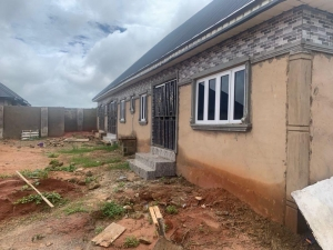 Distressed Sale 85percent Completed Newly 3 Flat Detached Bungalow for Sale Oredo Edo Vetra  Property
