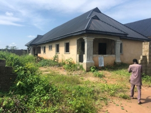 Brand New 3 Flat Of 3bedroom At The Front, While The Back Has 2bedroom Each 3 bedroom Detached Bungalow for Sale Oredo Edo Vetra  Property
