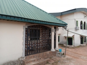A Standard 6 Flat Upstairs With A Standard 2flat Bungalow Of 2bedroom Each Very Close To The Road 3 bedroom Blocks of Flats for Sale Oredo Edo Vetra  Property