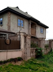 95percent Completed Super Standard 4flat For Sale At Amagba 3 bedroom Blocks of Flats for Sale Oredo Edo Vetra  Property