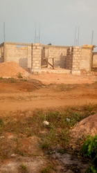 60 Percent Completed 3 Bedroom House On A 100 By 100 3 bedroom Detached Bungalow for Sale Oredo Edo Vetra  Property