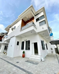 Brand New And Serviced 4 Bedroom Semi-detached Duplex Semi-Detached Duplex for Rent Lekki Lagos Vetra  Property