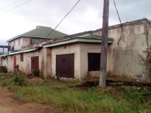 3 Plots Of Land With Old Building Inside At Naze Industrial Layout Factory for Sale Owerri Imo Vetra  Property