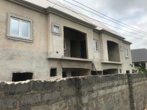 70% Completed 4 Units Of 2 Bedroom Flats 8 bedroom Mini Flat for Sale Owerri Imo Vetra  Property
