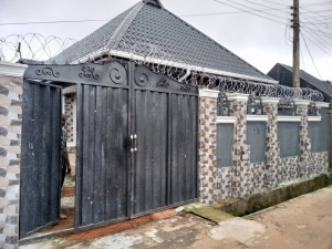 Sleek House For Sale In Nice Environment 4 bedroom Detached Bungalow for Sale Owerri Imo Vetra  Property