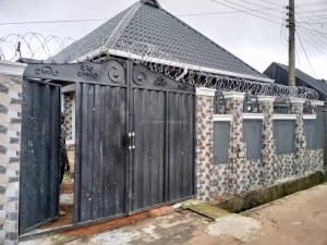 Sleek House For Sale,bungalow 4 bedroom House for Sale Owerri Imo Vetra  Property