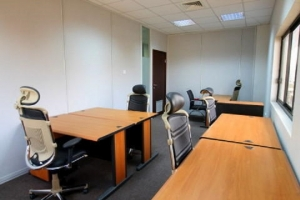 Work Your Way In A Private Office For Two. Office Space for Rent Central Area Abuja Vetra  Property