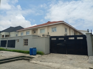 A Lovely And Partly Furnished 3 Bedroom Semi-detached Duplex 3 bedroom Semi-Detached Duplex for Rent Lekki Lagos Vetra  Property