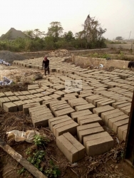100 By 100 Land With Foundation For 4bedroom Bungalow   Land for Sale Central Edo Vetra  Property