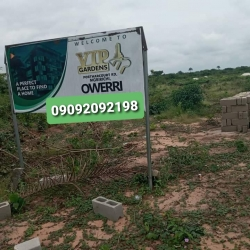 Affordable And Prime Plots Of Land In A Very Strategic And Nice Location Directly On Port-harcourt Road In Mbirichi, Owerri In Imo State. Mixed Land for Sale Owerri Imo Vetra  Property