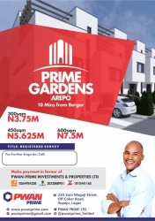 Land For Sale At Berger Residential Land for Sale Arepo Ogun Vetra  Property
