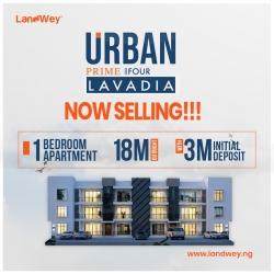 One Bedroom Apartments @ Urban Prime Four  Mini Flat for Sale Ajah Lagos Vetra  Property
