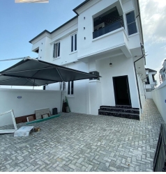 Massive 4 Bedroom Semi Detached Duplex In Chevron 4 bedroom Semi-Detached Duplex for Sale Lekki Lagos Vetra  Property