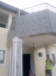 Fantastic Brand New Mini Flat Upstairs Mini Flat for Rent Ajah Lagos Vetra  Property