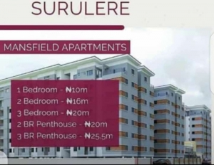 Newly Built 2 Bedroom Apartments Within A Gated Estate Behind The Stadium In Surulere 2 bedroom House for Sale Surulere Lagos Vetra  Property