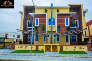 Massive 4bedroom Semi Detached Smart Duplex With Bq  4 bedroom Semi-Detached Duplex for Sale Lekki Lagos Vetra  Property