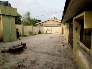 For Sale 4 Bedroom Flat All Room Ensuits Bungalow With Two Living Room, Security House, Well Fences Gate, Borehole, Prepaid Metre All Tiles @ Alakia New Ife Road Celecal Ibadan, Asking 15m With Red Copy Survey Plan And Agreement 4 bedroom Detached Bungalow for Sale Ibadan Oyo Vetra  Property