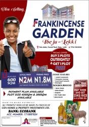 Frankincense Garden, Eleko Mixed Land for Sale Ibeju Lekki Lagos Vetra  Property
