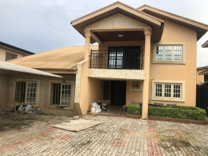 5bedroom Duplex With Two Rooms Bq  House for Sale Gbagada Lagos Vetra  Property