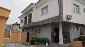 Well Finished And Serviced 2 Units Of 3 Bedrooms En-suite Semi Detached Duplex And A Boy's Quarter  3 bedroom Semi-Detached Duplex for Rent Lekki Lagos Vetra  Property