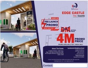 Edge Castle Estate Commercial Land for Sale Lekki Lagos Vetra  Property