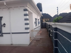 House For Sale- 3 Bedroom Bungalow With Bq Location- Gwarimpa Estate Land Size: 560sqm Price- 55 Million (negotiable) Title- Government Allocation 3 bedroom Detached Bungalow for Sale Gwarinpa Abuja Vetra  Property