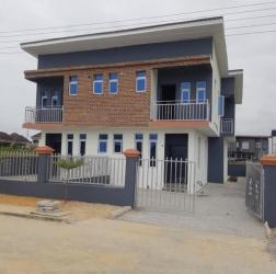 Newly Built Semi -detached 3bedroom Duplex @sangotedo Amity Estate 3 bedroom Semi-Detached Duplex for Sale Ajah Lagos Vetra  Property