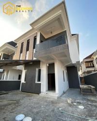 5 Bedroom Detached Duplex With Bq 5 bedroom Detached Duplex for Sale Lekki Lagos Vetra  Property