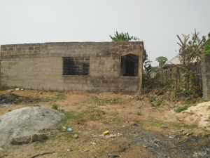 Uncompleted 2 Flats(3 Bedrooms Each, All Ensuit) 3 bedroom Blocks of Flats for Sale Oredo Edo Vetra  Property