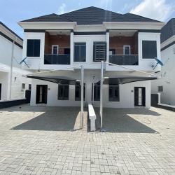 Newly Built 4 Bedroom Semi Detached Duplex 4 bedroom Semi-Detached Duplex for Rent Lekki Lagos Vetra  Property