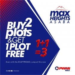 Buy 2 Plots And Get 1 Plot Free Residential Land for Sale Asaba Delta Vetra  Property