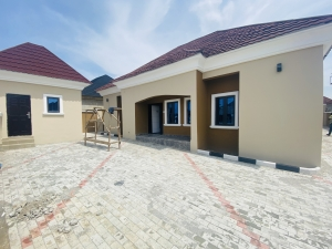 3 Bedroom Bungalow With Bq 3 bedroom Detached Bungalow for Sale Gwarinpa Abuja Vetra  Property