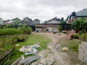 Well Located Vast Three Plots Of Fenced And Gated Land In A Well Secured Estate Residential Land for Sale Port Harcourt Rivers Vetra  Property