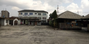 5 Plots Of Land With Massive Structures  10 bedroom Commercial Property for Sale Obio Akpor Rivers Vetra  Property