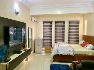 Newly Built And Furnished Studio Apartment With Quality Service Studio Apartment for Short let Lekki Lagos Vetra  Property