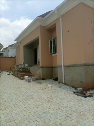 3bedroom Bungalow Newly Built Main House  3 bedroom Detached Bungalow for Rent Gwarinpa Abuja Vetra  Property