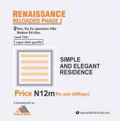 Renaissance Reloaded Phase 2 Commercial Land for Sale Epe Lagos Vetra  Property