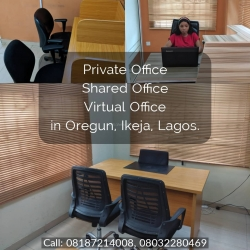 Furnished Private Office For Rent In Oregun, Ikeja Office Space for Rent Ikeja Lagos Vetra  Property