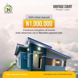 Vantage Court  3 bedroom Detached Bungalow for Sale Ajah Lagos Vetra  Property