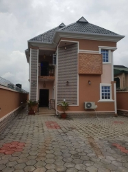 Executive Lovely Decent 5 Bedroom Duplex On A Good Environment All Rooms En Suit 5 bedroom Detached Duplex for Sale Ikotun Lagos Vetra  Property