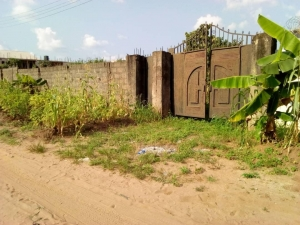2 Plots Fenced Round At Spilbat Owerrri Residential Land for Sale Owerri Imo Vetra  Property
