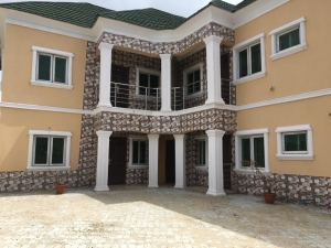 4no. 3-bedroom Flats At Unity Estate, By Co-operative Villa, Badore. Rent: N800k For The Ground Flat, Upper Flats Taken. 3 bedroom Blocks of Flats for Rent Ajah Lagos Vetra  Property