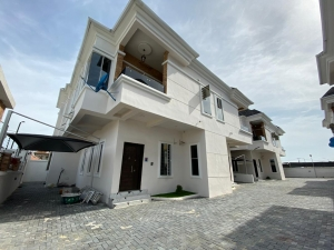 Brand New Serviced 4-bedroom Semi-detached House. 4 bedroom Semi-Detached Duplex for Rent Lekki Lagos Vetra  Property