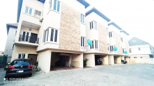 Lovely Serviced 4 Bedroom Terrace Duplex For Rent In Osapa London 4 bedroom Terraced Duplex for Rent Lekki Lagos Vetra  Property