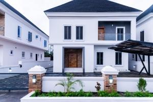 Fully Detached 4bedroom Duplex With Bq Location: Megamond Estate Detached Duplex for Sale Lekki Lagos Vetra  Property