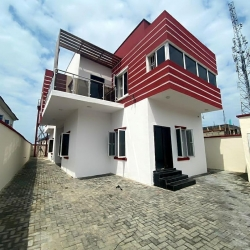Nicely Built 4 Bedroom Detached Duplex With A Bq  4 bedroom Detached Duplex for Sale Lekki Lagos Vetra  Property